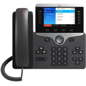 Cisco 8861 IP Phone - Wall Mountable, Desktop - Black - 5 x Total Line - VoIP - Caller ID - SpeakerphoneEnhanced User Connect License - 2 x Network (RJ-45) - USB - PoE Ports - Color CP-8861-K9=