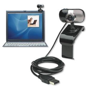 Manhattan Webcam 500 SX - Hi-Speed USB - 5.0 Megapixels (460491)