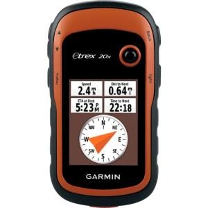 "Garmin eTrex 20x Handheld GPS Navigator - Mountable, Portable - 2.2"" - 65000 Colors - Photo Viewer - microSD - Turn-by-turn Navigation - USB - Preloaded Maps - 240 x 320 - Water Proof 010-01508-00"