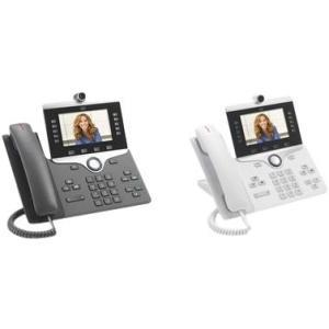 Cisco 8865 IP Phone - Wall Mountable - Charcoal - VoIP - IEEE 802.11a/b/g/n/ac - Caller ID - SpeakerphoneEnhanced User Connect License - 2 x Network (RJ-45) - USB - PoE Ports - Color - SIP, SDP, RTP,