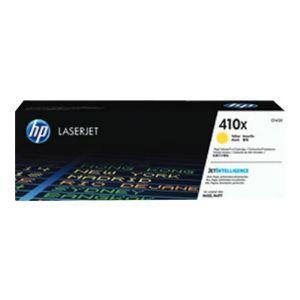 HP 410X Original Toner Cartridge - Single Pack - Laser - High Yield - 5000 Pages - Yellow - 1 Each CF412X