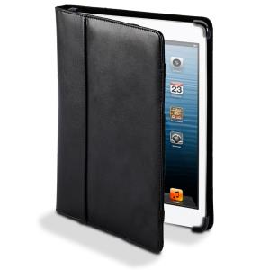 Cyber Acoustics Leather iPad Mini Cover/Case - Black (IMC-7BK)