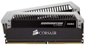 Corsair Dominator Platinum Series 32GB (2 x 16GB) DDR4 DRAM 3200MHz C16 Memory Kit - 32 GB (2 x 16 GB) - DDR4 SDRAM - 3200 MHz DDR4-3200/PC4-25600 - 1.35 V - Unbuffered - 288-pin - DIMM CMD32GX4M2C320