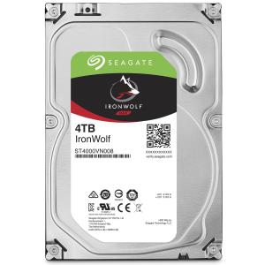 "Seagate IronWolf ST4000VN008 4 TB Hard Drive - SATA (SATA/600) - 3.5"" Drive - Internal - 5900rpm - 64 MB Buffer - 3 Year Warranty"