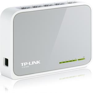 Tp-Link 5-Port 10/100Mbps Desktop Switch - 5 Ports - 5 x RJ-45 - 10/100Base-TX TL-SF1005D