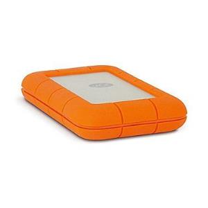 LaCie 1TB Rugged Thunderbolt USB 3.0 External Hard Drive - Orange STEV1000400