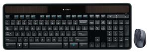 Logitech MK750 Wireless Solar Keyboard and Marathon Mouse Combo - Hyper-Fast Scrolling - Laser Tracking - Light-Powered - Logitech Unifying Receiver (920-005002)