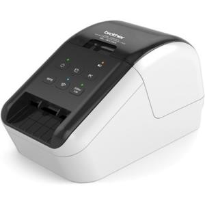 Brother QL-810W Wireless Label Printer - Direct Thermal - Monochrome - Prints amazing Black/Red labels using DK-2251. Print labels wirelessly using AirPrint or Brother iPrint&Label app. Ultra-fast, pr