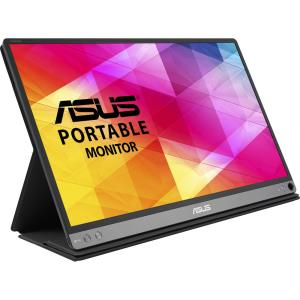 "ASUS ZenScreen MB16AC 15.6"" Full HD Portable IPS USB Monitor - 1920x1080 - 220 cd/m2 - 800:1 Native Contrast Ratio - USB Type-C Connector - Automatic Screen Orientation - Slim, Lightweight Design - Fo"