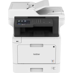 "Brother Business Color Laser All-in-One MFC-L8900CDW - Duplex Print - Wireless Networking - Copier/Fax/Printer/Scanner - 33 ppm Mono/33 ppm Color Print - 2400 x 600 dpi class - 5"" LCD Touchscreen - Gi"