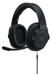 Logitech G433 7.1 Wired Surround Gaming Headset - Stereo - Black - Mini-phone - Wired - 32 Ohm - 20 Hz - 20 kHz - Over-the-head - Binaural - Circumaural - 6.56 ft Cable 981-000708