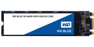 WD Blue 3D NAND 500GB PC SSD - SATA III 6 Gb/s M.2 2280 Solid State Drive - 560 MB/s Maximum Read Transfer Rate - 5 Year Warranty WDS500G2B0B