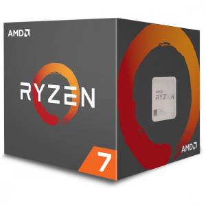 AMD RYZEN 7 2700 3.2GHz Processor - Socket AM4 - Octa-Core (8 Core) - 16 Threads - 16MB L3 Cache - 4MB L2 Cache - 65W TDP - 4.1GHz Max Turbo Frequency - Unlocked Clock Multiplier - AMD Wraith Spire RG