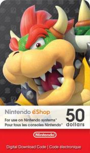 Nintendo Ecash $50 Digital Download