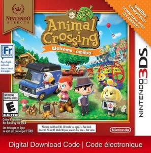 3Ds Nintendo Selects: Animal Crossing: New Leaf Welcome Amiibo (Digital Download) 6000198506216