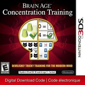 Nintendo 3Ds Brain Age: Concentration Training [Download] 6000198822693