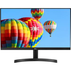"LG 24MK600M-B 23.8"" Full HD LED LCD Monitor - 16:9 - Matte Black - 1920 x 1080 - 16.7 Million Colors - FreeSync - 250 Nit Typical - 5 ms GTG - HDMI - VGA"