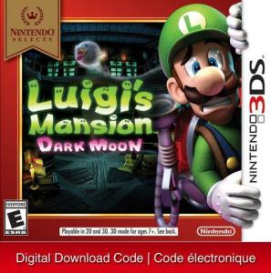 3Ds Nintendo Selects: Luigi's Mansion: Dark Moon [Download] 6000198904750