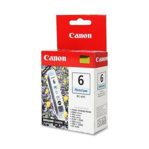 Genuine Canon BCI-6PC Ink Tank, Photo Cyan 4709A003