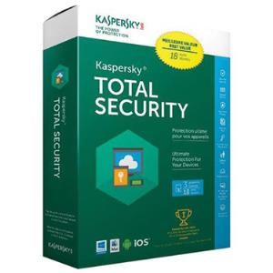 Kaspersky Total Security 2018 3-User 18 Months KL1919ABCES-1712CBZ
