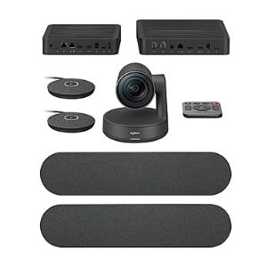 Logitech Rally Plus Video Conferencing Kit For Meeting Rooms 960-001225