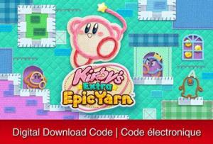 Nintendo 3Ds Kirby's Extra Epic Yarn [Download] 6000199668460