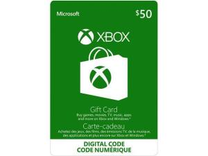 Xbox $50 Gift Card (Email Delivery)