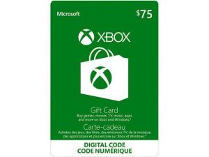 Xbox $75 Gift Card (Email Delivery)