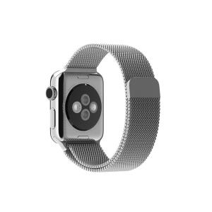 Bracelet de montre pour Apple Watch 38 / 40mm Bracelet de remplacement en silicone pour Apple Watch Series 5, 4, 3, 2, 1, Bourgogne
