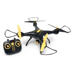 Wi-Fi FPV Quadcopter Drone 720P HD Camera Altitude Hold RC 2.4G 4CH 6 Axis, Black/Yellow 61510
