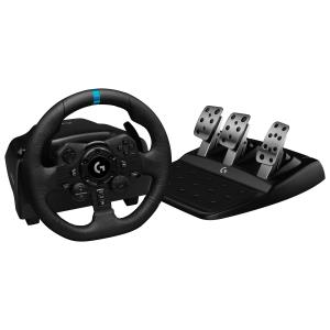 Logitech G923 True Force Racing Wheel for PlayStation 4/PC - Black 941-000147