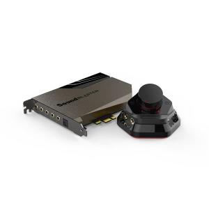 Sound Blaster AE-7 PCIe with Audio Control Module - Metallic Grey 70SB180000000