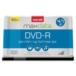 maxell 4.7GB 16X DVD-R 50 Packs Disc Model 638011 - Retail