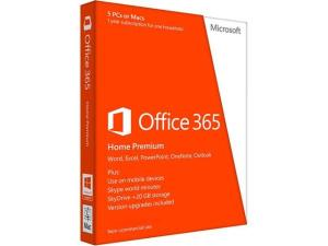 Microsoft Office 365 Home Premium 32/64-bit - Office Suite - Non-commercial - 1 Year - PC, Mac - English 6GQ-00024