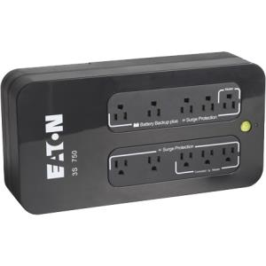 Eaton 3S 350VA/200W 8 Outlet 5-15P 5-15R Standby UPS for Desktop Mini Tower