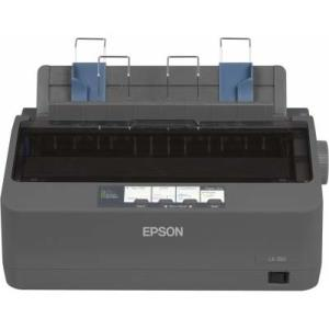 Epson LX-350 9-pin Dot Matrix Printer - Monochrome - 80 Column - 357 cps Mono - USB - Parallel - Serial C11CC24001