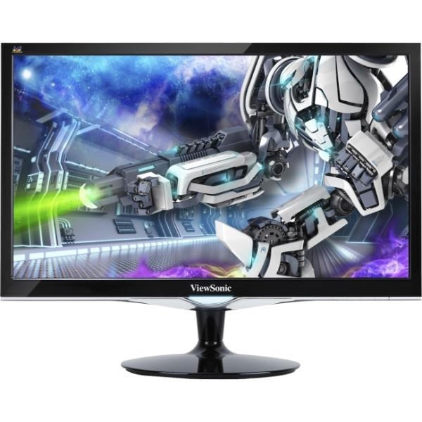 "Viewsonic VX2452mh 24"" LED LCD Monitor - 16:9 - 2 ms - Adjustable Display Angle - 1920 x 1080 - 300 Nit - 1,000:1 - Speakers - DVI - HDMI - VGA - RoHS, ENERGY STAR"
