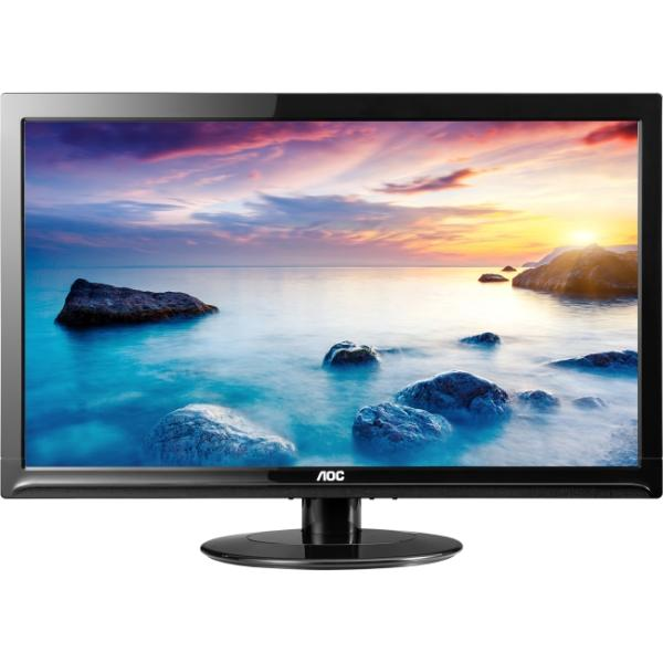 "AOC E2425SWD 24"" Class LCD LED Backlit Monitor - TFT Active, 60Hz, 20M:1, 1920 x 1080"