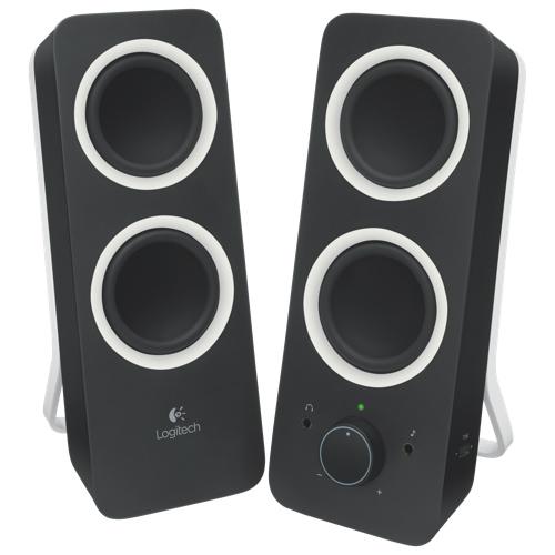Logitech Z200 - Speakers - for PC - black