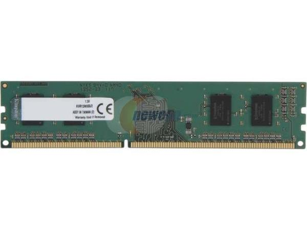 Kingston 2GB Module - DDR3 1333MHz - 2 GB - DDR3 SDRAM - 1333 MHz DDR3-1333/PC3-10600 - 1.5 V - Non-ECC - Unbuffered - 240-pin - DIMM KVR13N9S6/2