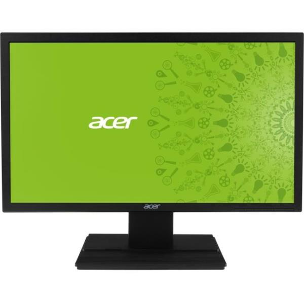"Acer V246HL 24"" LED LCD Monitor - 16:9 - 5ms - Free 3 year Warranty - Adjustable Display Angle - 1920 x 1080 - 16.7 Million Colors - 250 Nit - Full HD - Speakers - DVI - HDMI - VGA - 20.90 W - Black"