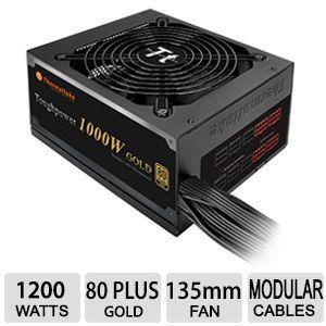 Thermaltake Toughpower 1200W Gold PS-TPD-1200MPCGUS-1 1200W Power Supply