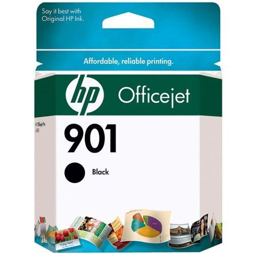 HP 901 Original Ink Cartridge - Single Pack - Inkjet - 200 Pages - Black - 1 Each CC653AN#140