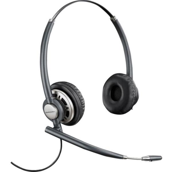 Plantronics EncorePro 720 Customer Service Headset - Stereo - Wired - Over-the-head - Binaural - Circumaural - Noise Cancelling Microphone 78714-101
