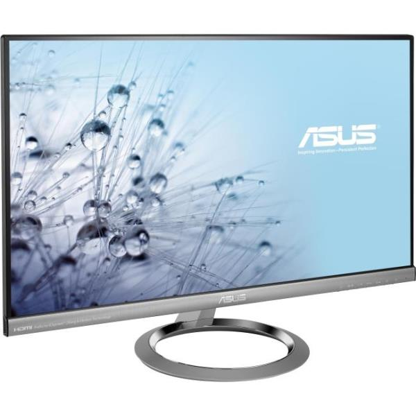 "Asus MX259H 25"" LED LCD Monitor - 16:9 - 5 ms - Adjustable Display Angle - 1920 x 1080 - 16.7 Million Colors - 250 Nit - 80,000,000:1 - Full HD - Speakers - HDMI - VGA - Silver Black - ENERGY STAR"