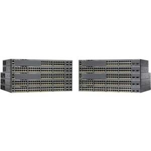 Cisco Catalyst 2960XR-48FPD-I Ethernet Switch - 48 Ports - Manageable - 24 x POE - 24 x POE+ - 2 x Expansion Slots - 10/100/1000Base-T - PoE Ports - Rack-mountable WS-C2960XR-48FPD-I