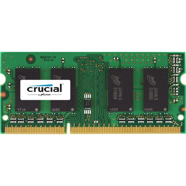 Crucial 2GB 204-Pin DDR3 SO-DIMM DDR3L 1600 (PC3L 12800) Laptop Memory Model CT25664BF160BJ