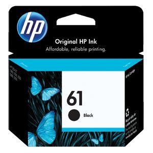 HP 61 Ink Cartridge - Black - Inkjet - 190 Page - 1 Pack CH561WN#140