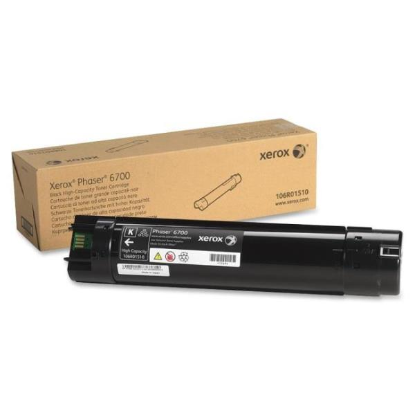 Xerox 106R01510 Toner Cartridge - Black - Laser - 18000 Page - 1 Pack - OEM