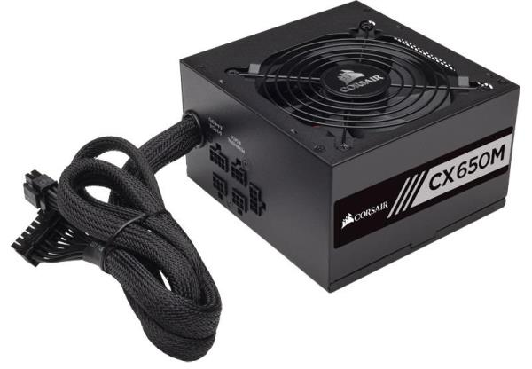Corsair CX Series CX650M 650W ATX 12V 80 Plus Bronze Certified Modular Power Supply W/5 Yrs Warranty CP-9020103-NA